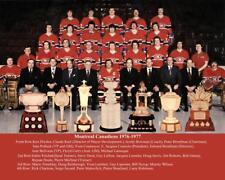 1977 MONTREAL CANADIENS TEAM PHOTO 8X10