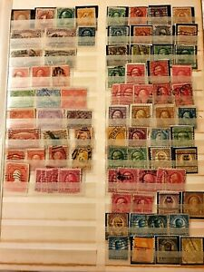 U.S.A AMERICAN POSTAGE STAMPS . OLD TO NEW DATED ORDER THOUSANDS MANY MINT XMAS