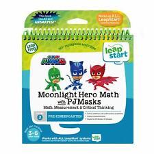 LeapFrog LeapStart 3D Moonlight Hero Math with PJ Masks Book, Level 2
