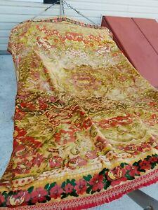 Vintage Velvet Cherub Bedspread