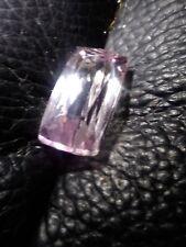 kunzite baby pink 9.66Cts cushion cut vvs stunning Natural no treatment