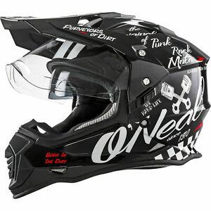 ONeal Sierra 2 Torment Motocross Helmet Off Road Dual Sport Motorcycle O Neal