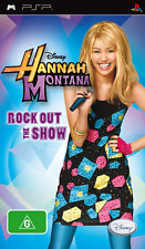 Hannah Montana Rock Out the Show PSP Game USED