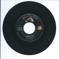 "1956 ELVIS PRESLEY ""HOUND DOG"", ""DON'T BE CRUEL"" 45rpm 7"""