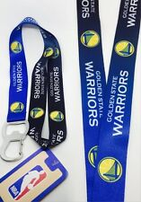 NBA Golden State Warriors Keychain & Bottle Opener Lanyard