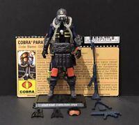 G.I. Joe 25th Cobra Para Viper Trooper Figure Complete w/ File Card