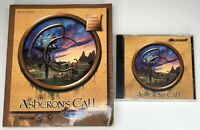 Asheron's Call by Microsoft - Vintage PC Game -Rare 1999 With Strategy Guide