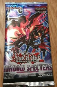 Konami Yu-Gi-Oh Shadow Specters Boosters 1st Edition (9 Card Pack)