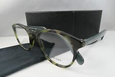 Prada VPR 19S LAB-1O1 Havana/Sky Blue New Authentic Eyeglasses 50mm w/Case