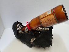 The Grim Reaper Skull Skeleton Wine Bottle Holder Guzzler Scary