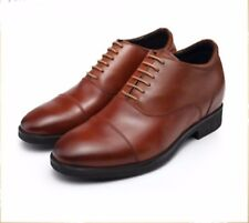 Men 3.5 inches Elevator Height increase Business Dress shoes size 7 8 9 10 10.5