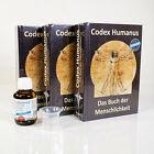 Codex Humanus - Das Buch der Menschlichkeit Band 1 2 3 + Kolloidales Silber -NEU