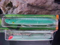 "Cotton Cordell 6"" TopWater Pencil Popper C6668 GREEN MACKEREL for Big Game fish"