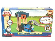 Thomas and Friends Wooden Railway Coal Hopper Figure 8 Set New MISB