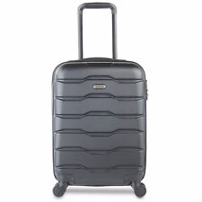 "VonHaus 21"" Hand Luggage ABS Lightweight Hard Shell Cabin Case 4 Wheel Trolley"