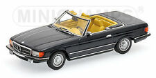 Minichamps 1971 MERCEDES SL350 CABRIOLET (R107) DARK BLUE 1:43*New!
