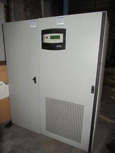 LEIBERT 40 KVA UPS UNINTERRUPTIBLE POWER SUPPLY 480 VAC 3 PH 44 AMPS 38.4 KW 208