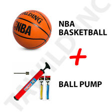 New ListingSpalding Nba Basketball Game New Official Size 7 29.5 Men's + Free Ball Pump