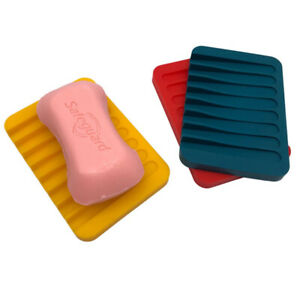 SILICONE SOAP DISH in10 colours GOOD VALUE AND QUALITY UK SELLER