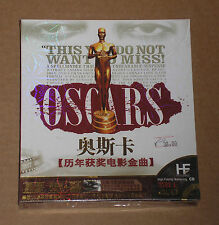 OSCARS (MOVIE SOUNDTRACKS) - BOX 4 CD CHINA SIGILLATO (SEALED)
