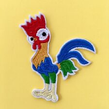 DISNEY MOANA HEI HEI CHICKEN MAUI HAWAII EMBROIDERED APPLIQUÉ PATCH SEW IRON ON