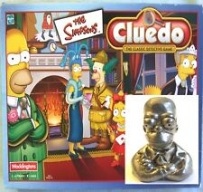 2001 Waddingtons THE SIMPSONS Cluedo Board Game Spare Part - Pewter HOMER Token