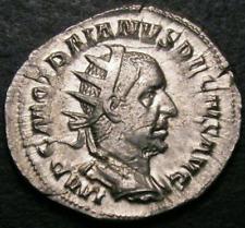 249-251 ad vf antoniniani TRAJANUS Decio Romano Ric 10b CGS 40, alrededor de AU50