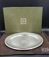 "Christofle France MALMAISON-BEAUHARNAIS (SILVERPLATE) 17"" Oval Serving Platter"