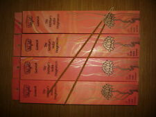 THE MOTHER'S INDIA INCENSE 4 PACKS GANESH 20 full size sticks per box