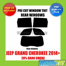 JEEP GRAND CHEROKEE 2014 + 20% DARK POSTERIORE TASTINI finestra Tinta