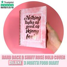 FOOD DIARY SLIMMING WORLD COMPATIBLE BOOK A5 WEIGHT LOSS DIET JOURNAL PLANNER RQ