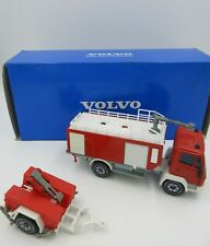 VOLVO NL10 TURBO WATER TANKER diecast FIRE TRUCK made in West Germany with BOX