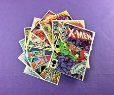 Uncanny X-men Lot: 9-Bk- #191, 192, 204, 205, 206, 207, 208, 209, 210!