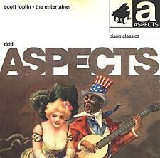 Scott Joplin - The Entertainer. ASPECTS PIANO CLASSICS. SCARCE CD. VGC. 50145050