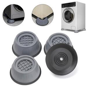4pc Anti Vibration Washer Feet Pad Washing Machine Dryer Support Anti Noise Base
