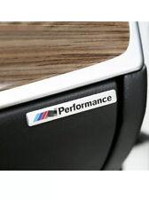 SILVER BMW M SPORT BLACK PERFORMANCE Car Door Sticker Badge Decal Fits All UK
