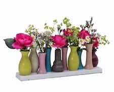 Keramikvasenset Blumenvase Keramikvasen bunt Blumen Vase Keramik Set Deko