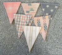 American Patriotic Paper Bunting  Party Decoration