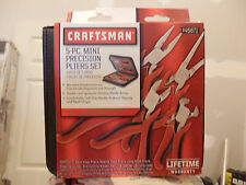 CRAFTSMAN 5 PC. MINI PRECISION PLIERS SET