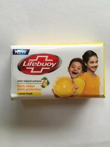4 BARS! 100gm Lifebouy Soap Lemon Fresh Original scent Free Shipping