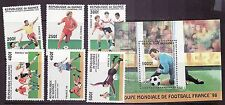 Guinea # 1382-88 MNH Complete W/SS World Cup Football Soccer