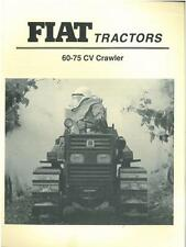 FIAT CRAWLER TRACTOR - 60-75 CV BROCHURE -IB4