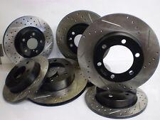Mazdaspeed  6  06-07  Drill/Slot Premium Bake Rotor F+R