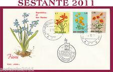 SAN MARINO FDC ROMA FIORI 1971 (220)