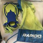 Rapids Boutique Collection water fins with mesh bag adult , JRL/XL 1-4