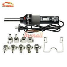 450w 220v Lcd Display Electronic Hot Air Heat Gun Soldering Station9pcs Nozzles