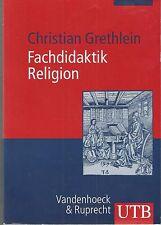 Fachdidaktik Religion Christian Grethlein