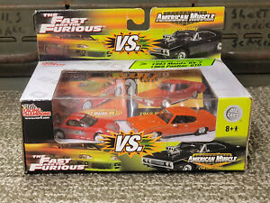 Racing Champions The Fast And The Furious VS. American Muscle