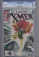 Classic  X-Men #9 CGC 9.6 1987  Marvel Comic: Arthur Adams & John Bolton Art