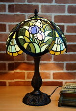 New Arrivals @Stunning Tulip Style Tiffany Leadlight  Stained Glass Desk Lamp